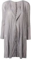Pleats Please By Issey Miyake - pleated coat - women - Polyester - 2