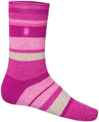Heat Holders Womens Stripe Lite Socks US 4 - 8