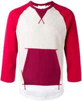 Comme des Garcons pile lined sweatshirt