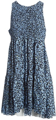 Proenza Schouler Blue Silk Dresses