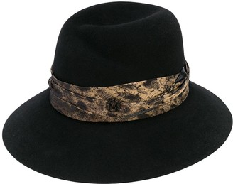 Maison Michel Rose fedora hat