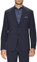 Original Penguin Men's Wool Plaid Notch Lapel Sportcoat