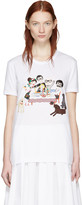 Dolce & Gabbana White Family T-Shirt