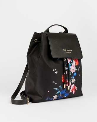 Ted Baker Sandalwood Drawstring Backpack