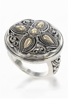 Effy Jewelry Effy 925 Classic Sterling Silver & 18K Gold Ring