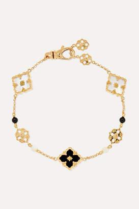Buccellati Opera 18-karat Gold, Mother-of-pearl And Onyx Bracelet - S