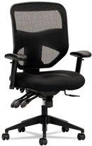 basyx by HON HVL532 Mesh High-Back 2-Way Arms Task Chair, Black