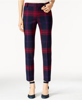 Tommy Hilfiger Madison Plaid Pants, Only at Macy's