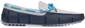 Swims Braided Lace Rubber Loafers