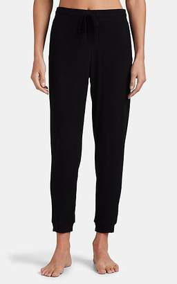 Skin Women's Noa Cotton-Modal Drawstring Pants - Black