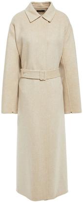 The Row Belted Wool-felt Coat