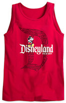 Disney Mickey Mouse with Disneyland Logo Tank Tee for Adults - Red