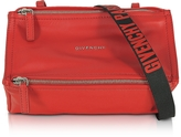 Givenchy Pandora Mini Red Leather Crossbody Bag