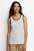 Classic Women's Tall Cotton Tank Top-Clear Coral Foulard