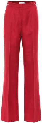 Gabriela Hearst Exclusive to Mytheresa Vesta high-rise wool-blend pants
