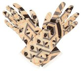 Hermes Carre Cube Silk Gloves w/ Tags