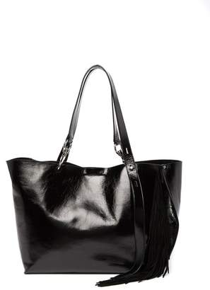 Rebecca Minkoff Fringed Stella Large Leather Tote