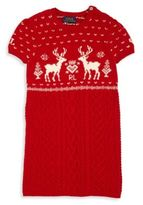 Girls Red Sweater Dress - ShopStyle