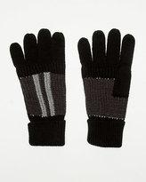 Le Château Stripe Knit Glove