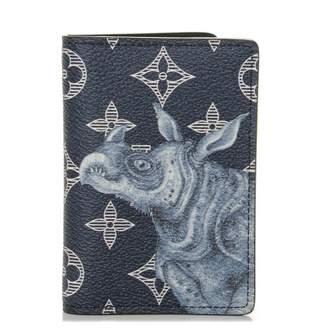 Louis Vuitton Pocket Organizer Savane Monogram Chapman Ink