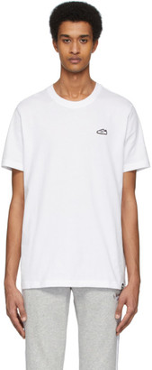 adidas White Superstar Embroidered T-Shirt