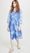 Raquel Allegra Poet Combo Dress