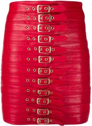 Manokhi Dita belted skirt