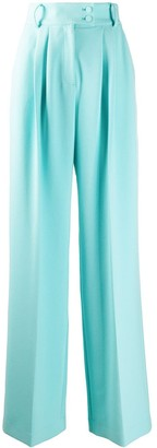 Styland Pleated Wide-Leg Trousers