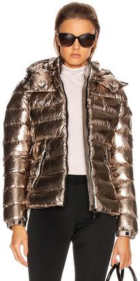 Moncler Bady Jacket in Gold Metallic | FWRD