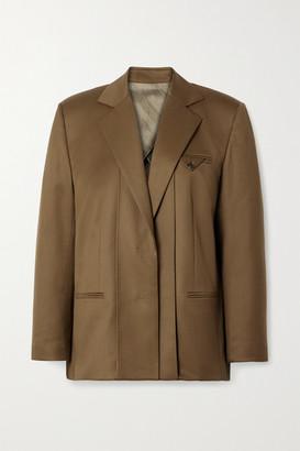 Commission Wool-twill Blazer - Brown