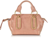 See by Chloe Paige Small Glazed Leather Handbag