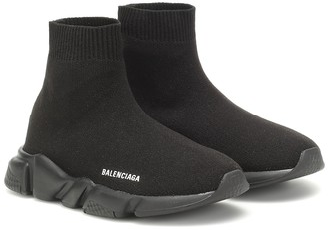 Balenciaga Kids Speed Trainer sock sneakers
