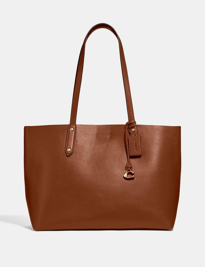 76ccb38160 Coach Leather Tote Bags - ShopStyle