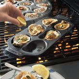 Sur La Table Cast Iron Oyster Grill Pan, 6 Cavity