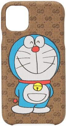 Gucci Doraemon x iPhone 11 phone case