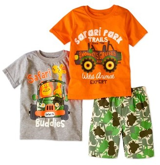 Nannette Knit Pullover, Knit Pullover & Woven Short (Toddler Boys)
