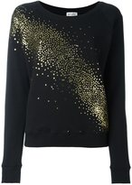 Saint Laurent milky way sweatshirt - women - Cotton/Polyester - XS