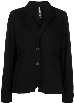 Raeburn Laundered organic cotton single-breasted blazer