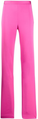 Versace High-Waisted Bootcut Trousers