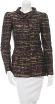 Oscar de la Renta Structured Printed Jacket