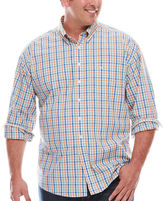 Dockers Long-Sleeve Multi Check Button-Front Shirt - Big & Tall