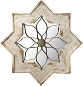 Asstd National Brand Whitewash Star Wall Mirror