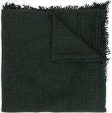 Massimo Alba fringed shawl