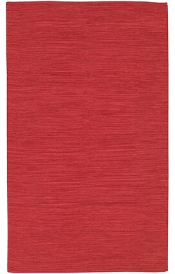 "Wrought StudioTM Temme Hand Woven Cotton Burgundy Area Rug Wrought Studio Rug Size: 7'9"" x 10'6"""
