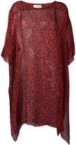 Faith Connexion leopard print top - women - Silk - XS