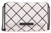 Kate Spade 'Emerson Place Overlay - Lenia' Leather Shoulder Bag - Grey