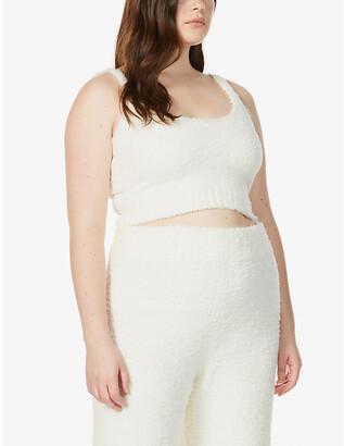 SKIMS Ladies Cream Cozy Knitted Tank, Size: XXS/XS