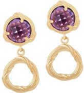 Peter Thomas Roth 18K Gold Fantasies Gemstone Drop Earrings