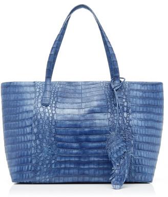 Nancy Gonzalez Erica Medium Crocodile Zipper Bag