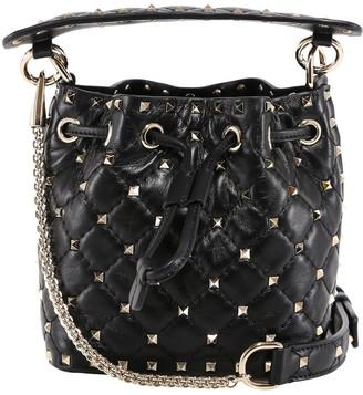 Valentino Mini Rockstud Bucket Bag